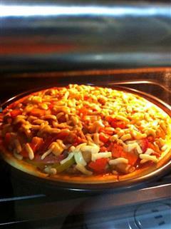 九寸牛肉至尊披萨