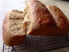 汤种全麦面包-柔软拉丝