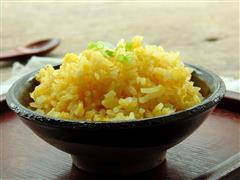 微波炉黄金蛋炒饭