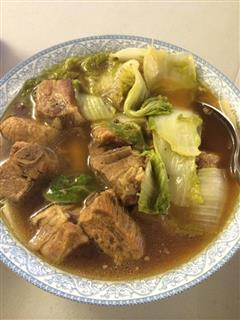 白菜排骨汤