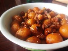 小土豆红烧肉