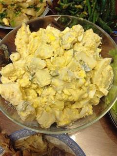 土豆泥鸡蛋沙拉