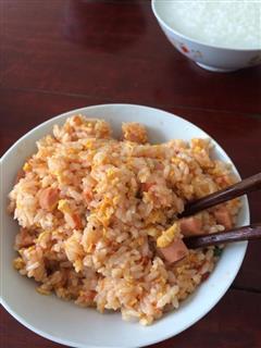 蕃茄蛋炒饭