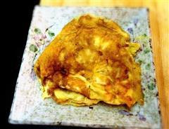 小虫自创—芝士鸡蛋饼