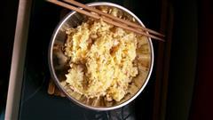 瘦肉鸡蛋炒饭