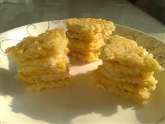 简单快手懒人早餐米饭鸡蛋饼