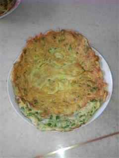 辣椒鸡蛋饼