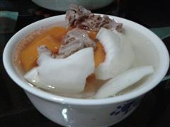 椰子炖排骨汤