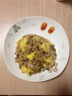 梅干菜蛋炒饭