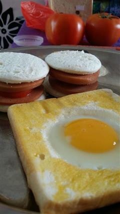 土司鸡蛋饼