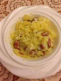 火腿鸡蛋土豆泥