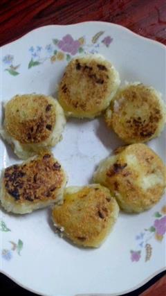 黒胡椒洋葱土豆煎饼