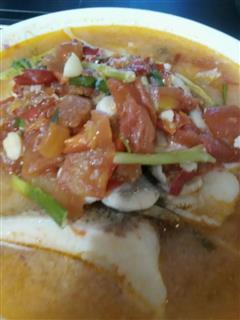 西红柿水煮鱼