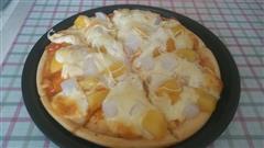简易懒人水果披萨