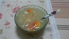 木瓜莲子银耳汤