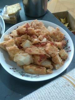 西红柿炒馒头