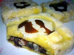 草莓蜜豆冰皮月饼
