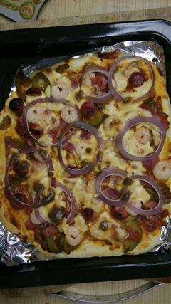 海陆大餐披萨