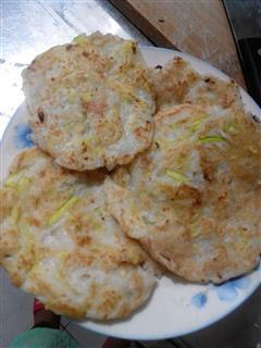 西葫芦土豆煎饼
