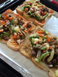 十分钟做披萨—懒人午餐