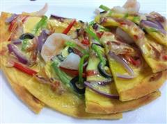 中式焗披萨