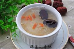 懒人版红枣枸杞银耳汤