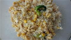 虾米玉米蛋炒饭