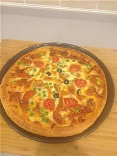 萨拉米披萨