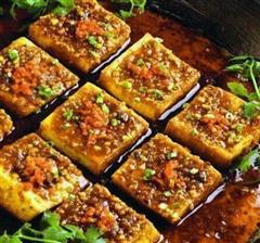 红烧肉沫豆腐
