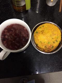 南瓜鸡蛋煎饼