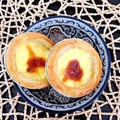 新手入门小甜点-香酥红豆蛋挞
