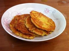 土豆泥鸡蛋饼