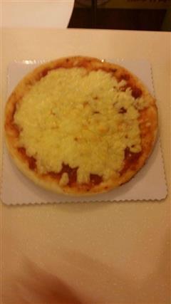 自制双层芝士披萨