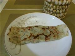 葱香火腿煎饼