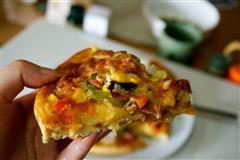 懒人自制披萨