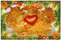 胡萝卜鸡肉小煎饼