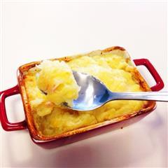 暖心小食-芝士焗土豆泥
