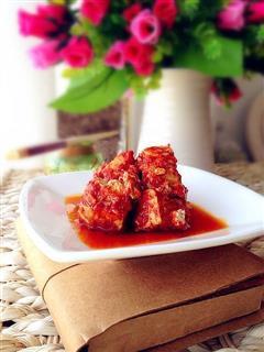 稀饭必备-自制健康麻辣豆腐乳