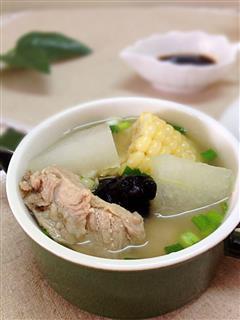 冬瓜排骨汤-冬季暖身