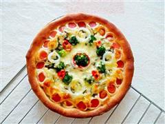 菰米饭披萨