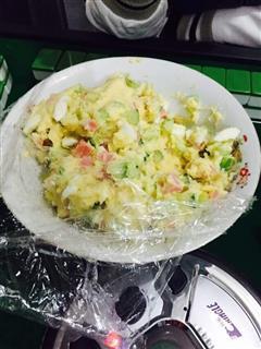 日式土豆沙拉 一 土豆泥细腻方法