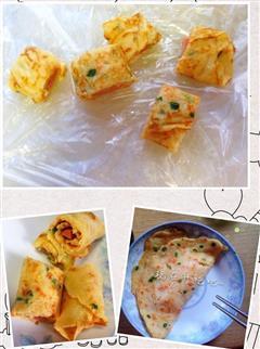 胡萝卜早餐简易煎饼