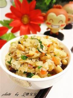 腊肉糯米饭,冬日护胃—冬季暖身