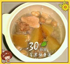 秋冬季苹果排骨汤