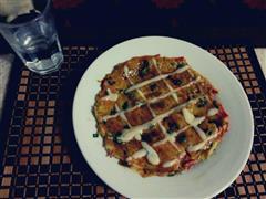 香葱土豆饼+日式照烧酱土豆煎饼
