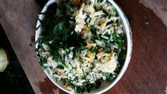 韭菜鸡蛋炒饭