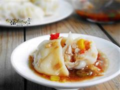 玉米马蹄猪肉饺子