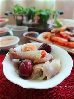 冬季最佳宴客菜-鸡汤火锅