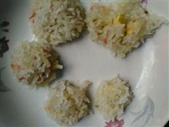 土豆泥大米丸子