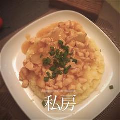鸡汁土豆泥